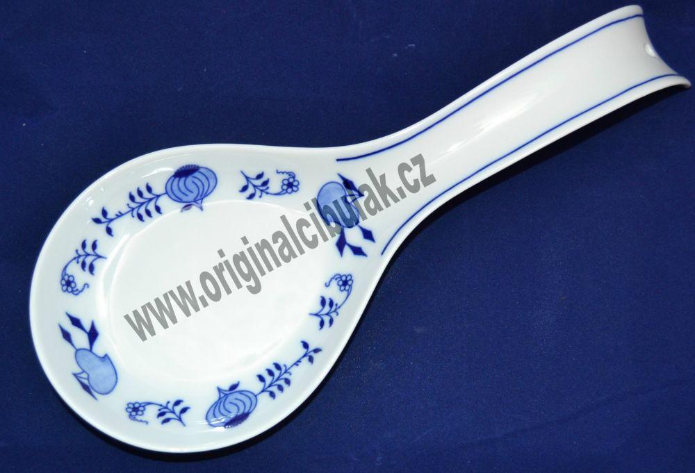 Cibulák odkladacia lopatka 30 x 12 cm cibulový porcelán, originálny cibulák Dubí 1. akosť