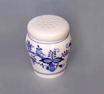 Cibulák dóza na cukor sypátko 0,20 l cibulový porcelán originálny cibulák Dubí 1. akosť