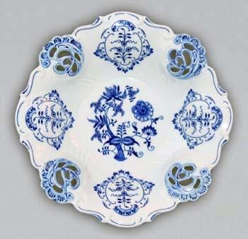 Cibulák misa Aida vyrezávaná 32 cm cibulový porcelán originálny cibulák Dubí