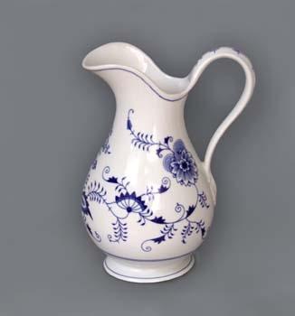 Cibulak hygienická súprava - džbán 5 l cibuľový porcelán, originálny cibuľák Dubí, 2. akosť