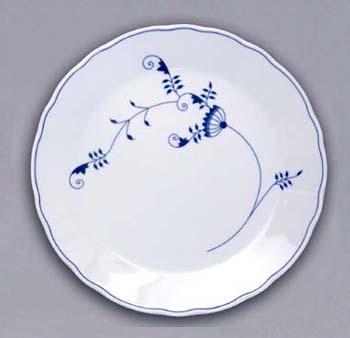 Cibulákový tanier klubový - ECO cibulák 0 cm cibulový porcelán, originálny cibulák Dubí 1. akosť