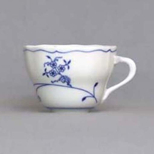 Cibuláková šálka vysoká B - ECO cibulák 0,20 l cibulový porcelán, originálny cibulák Dubí 1. akosť