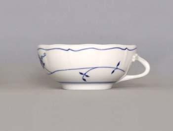 Cibuláková šálka bujón s jedným uškom - ECO cibulák 0,30 l cibulový porcelán, originálny cibulák Dubí 1. akosť