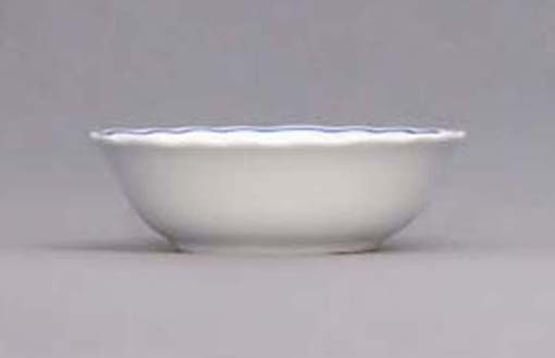 Cibulák miska kompótová vysoká - ECO cibulák 14 cm cibulový porcelán, originálny cibulák Dubí 1. akosť