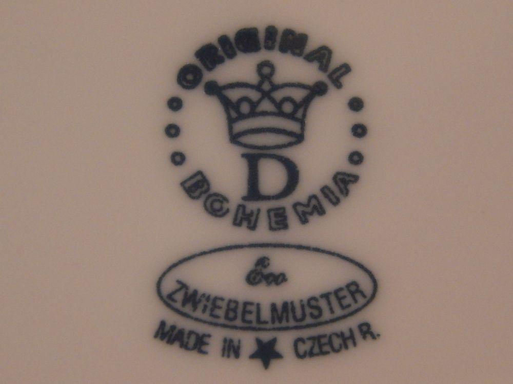 Cibulák misa kompótová - ECO cibulák 27,5 cm cibulový porcelán, originálny cibulák Dubí 1. akosť