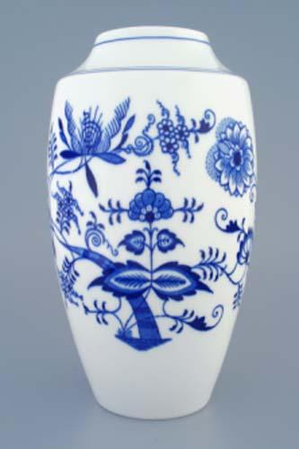 Cibulák váza 1211 27 cm cibulový porcelán, originálny cibulák Dubí 1. akosť