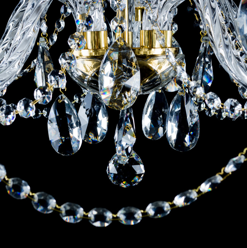 Krištáľový luster Oscar 5 výrobca Aldit 58 cm krištáľové lustre