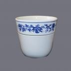 Cibulák kvetináč Krasko dvojdielny 16 cm cibulový porcelán originálny cibulák Dubí 1. akosť