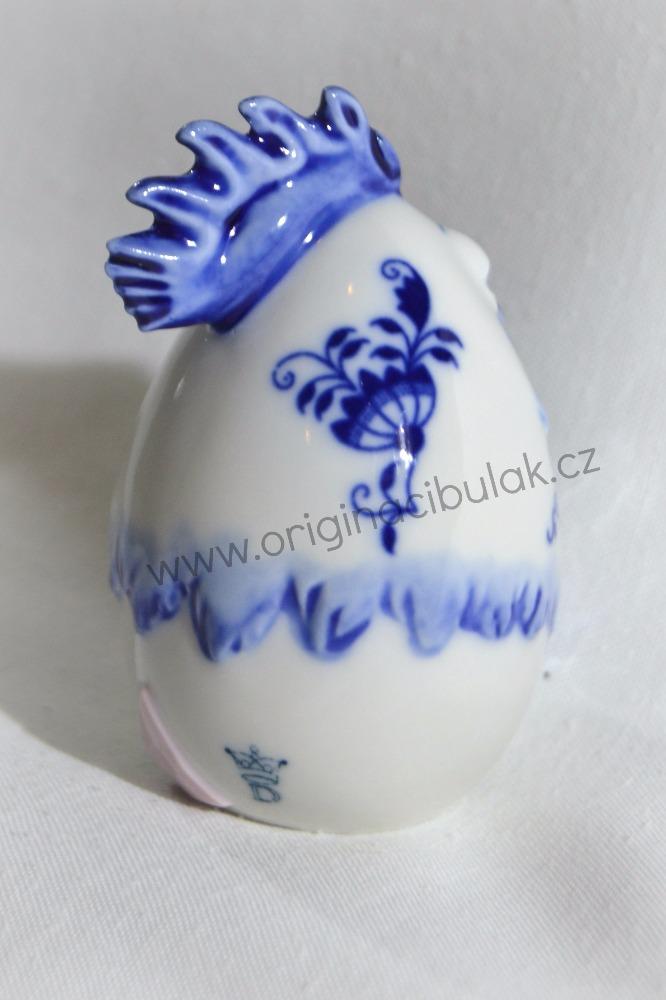 Cibulak sliepočka 7,1 cm cibulový porcelán, originálny cibulák Dubí, 1. akosť