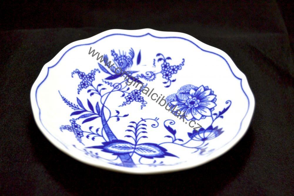 Akcia 5+1 Zdarma Cibulak šálka a podšálka B + B 0,20 l cibuľový porcelán, originálny cibuľák Dubí 2. akosť,