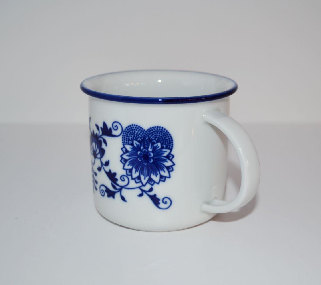 Cibulák hrnček Tina 0,25 l cibulový porcelán, originálny porcelán Dubí, 1. akosť