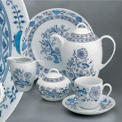 Karafa na olej 1 ks Henriette Saphyr Thun cibulový porcelán Nová Role