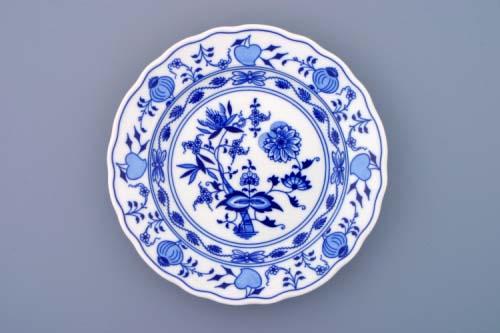 Cibulák tanier hlboký 24cm porcelán originálny cibulák Dubí 2. akosť