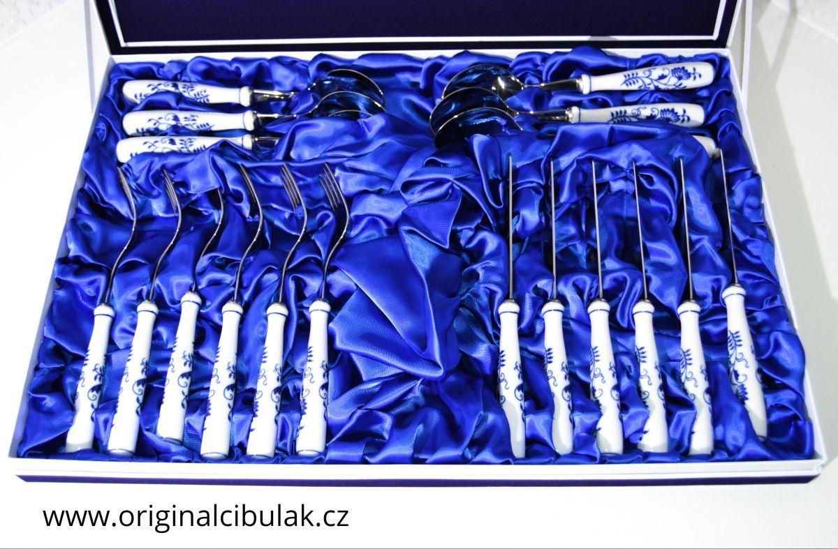 Cibulák Jedálenská príborová súprava - 18 kusov