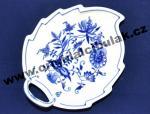 Cibulák misa list 15 cm cibulový porcelán, originálny cibulák Dubí