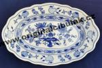Cibulák misa oválna 28 cm cibulový porcelán, originálny cibulák Dubí 1. akosť