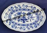 Cibulák misa oválna 24 cm cibulový porcelán, originálny cibulák Dubí 1. akosť