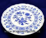 Cibulák tanier tortový 31 cm cibulový porcelán, originálny cibulák Dubí 1. akosť