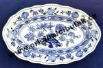 AKCIA 25% Cibulák misa šalátová oválna 24 cm cibuľový porcelán, originálny cibuľák Dubí 1. akosť