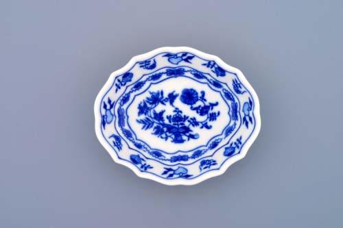 Cibulák miska na cukor 11 cm cibulový porcelán, originálny cibulák Dubí 1. akosť