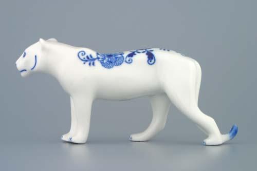 Cibulák tiger 18 cm cibulový porcelán, originálny cibulák Dubí 1. akosť
