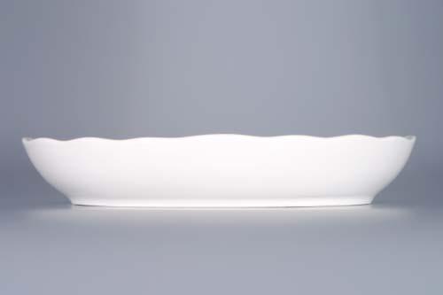 Cibulák misa šalátová oválna 23 cm cibulový porcelán, originálny cibulák Dubí 1. akosť