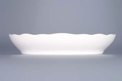 Cibulák misa šalátová oválna 20 cm cibulový porcelán, originálny cibulák Dubí 1. akosť