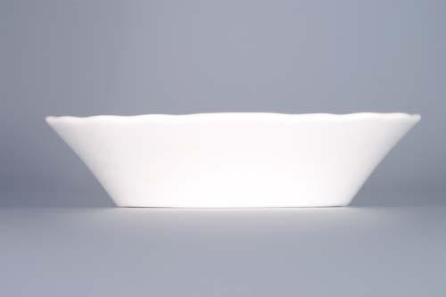 Cibulák miska Ravier oválna 15 cm cibulový porcelán, originálny cibulák Dubí 1. akosť