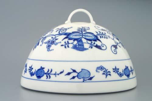 Cibulák Cloche-poklop na potraviny 20 cm cibulový porcelán, originálny cibulák Dubí, 1. akosť