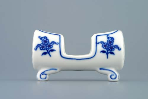 Cibulák dóza na špáradlá 8 x 5 x 4 cm cibulový porcelán, originálny cibulák Dubí, 1. akosť