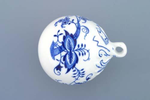 Cibulák vianočná ozdoba gule, záves 7 cm cibulový porcelán, originálny cibulák Dubí 1. akosť