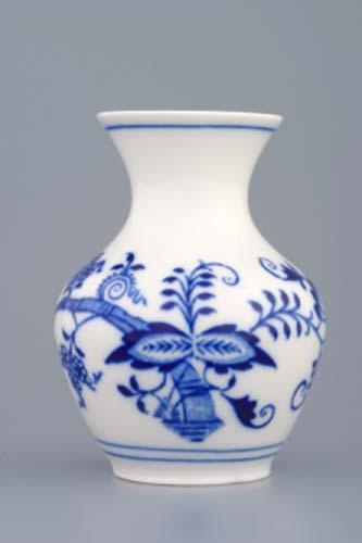 Cibulák váza 2544/1 10 cm cibulový porcelán, originálny cibulák Dubí 1. akosť