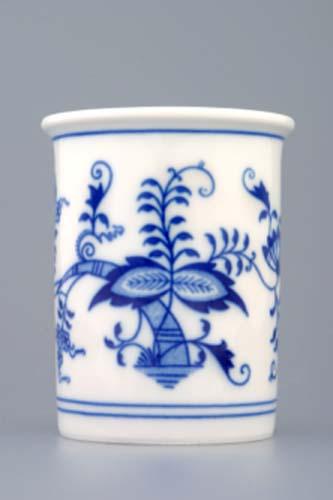 Cibulák kalíšok toaletný bez uška 0,25 l cibuľový porcelán, originálny cibuľák Dubí 1. akosť