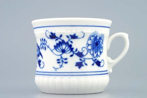 Cibulák hrnček Perlový malý 0,26 l cibuľový porcelán originálny cibuľák Dubí 1. akosť