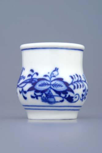 Cibulák likérka 0,045 l cibulový porcelán, originálny cibulák Dubí 1. akosť
