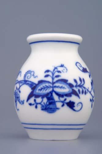 Cibulák váza 1209 7 cm cibulový porcelán, originálny cibulák Dubí 1. akosť