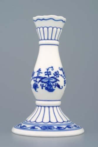 Cibulák svietnik 16 cm cibulový porcelán, originálny cibulák Dubí, 1. akosť