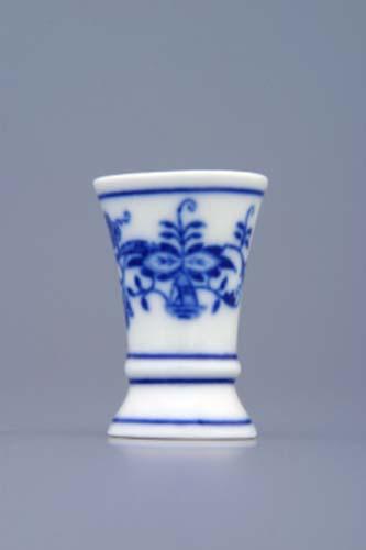 Cibulák váza mini 1213 cibulový porcelán, originálny cibulák Dubí 1. akosť