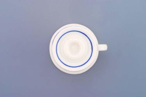 Cibulák svietnik mini s uškom cibulový porcelán, originálny cibulák Dubí 1. akosť