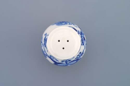 Cibulák korenička sypacia bez nápisu 7 cm cibulový porcelán, originálny cibulák Dubí 1. akosť