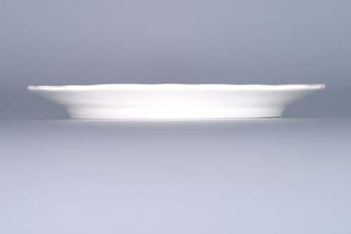 Cibulák dóza na syr, guľatá - spodok 19 cm cibulový porcelán, originálny cibulák Dubí, 1. akosť