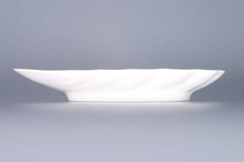 Cibulák miska mušle 23 cm cibulový porcelán, originálny cibulák Dubí 1. akosť