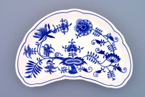 Cibulák miska na kosti 22 cm cibulový porcelán, originálny cibulák Dubí 1. akosť