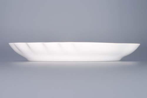 Cibulák misa dvojlist 24 cm cibulový porcelán, originálny cibulák Dubí 1. akosť