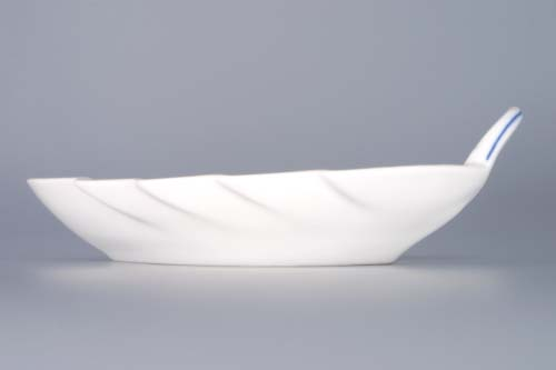 Cibulák misa list 15 cm cibulový porcelán, originálny cibulák Dubí 1. akosť