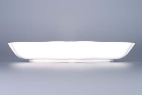 Cibulák misa šalátová trojhranná 24 cm cibulový porcelán, originálny cibulák Dubí 1. akosť