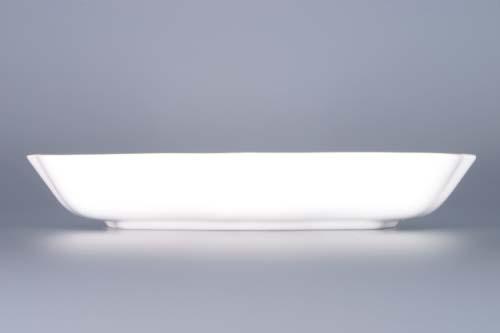 Cibulák misa šalátová trojhranná 19,5 cm cibulový porcelán, originálny cibulák Dubí 1. akosť