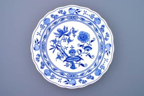 Cibulák misa guľatá, hlboká 31 cm cibulový porcelán, originálny cibulák Dubí 1. akosť