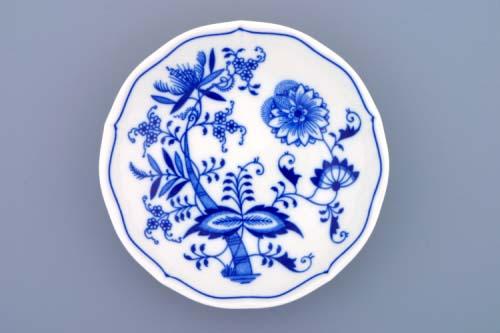 Cibulák podšálka C cibulový porcelán, originálny cibulák Dubí 1. akosť,