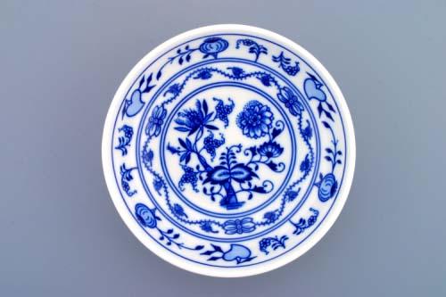 Cibulák miska hladká vysoká 13,2 cm, cibulový porcelán, originálny cibulák Dubí 1. akosť